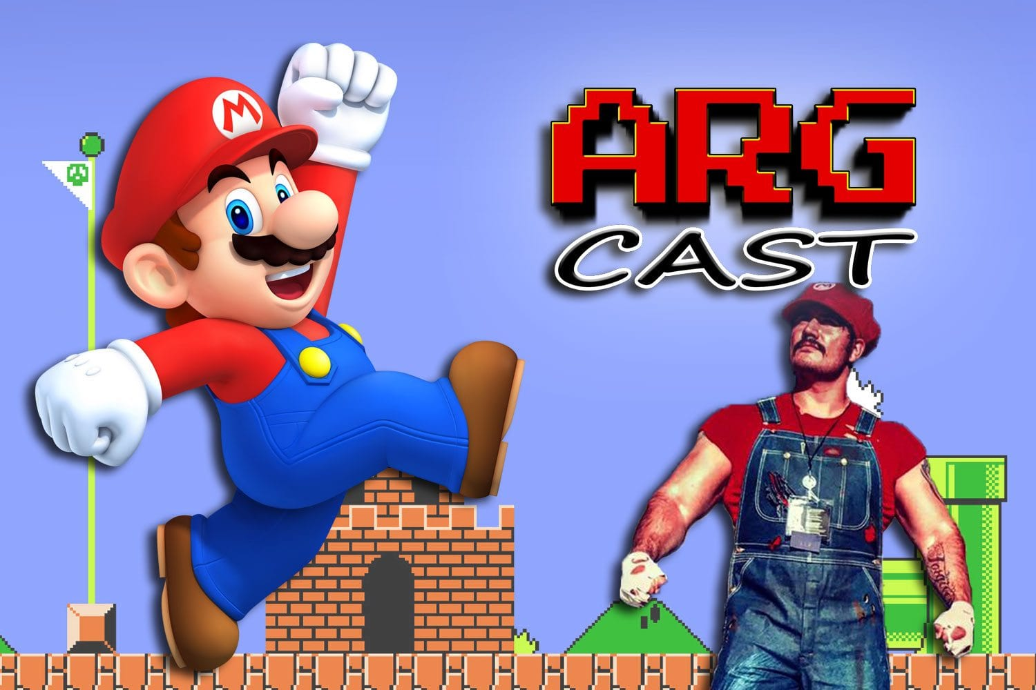 ARGcast #106: Jumping into Mario Games with Andre and Nick
