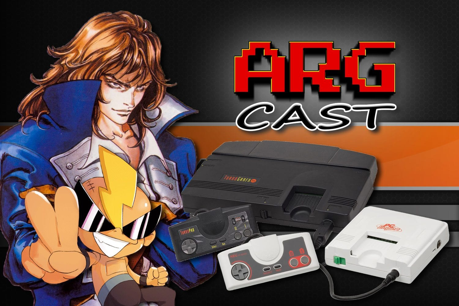 ARGcast #107: TurboGrafx-16 and PC Engine with Andre Tipton