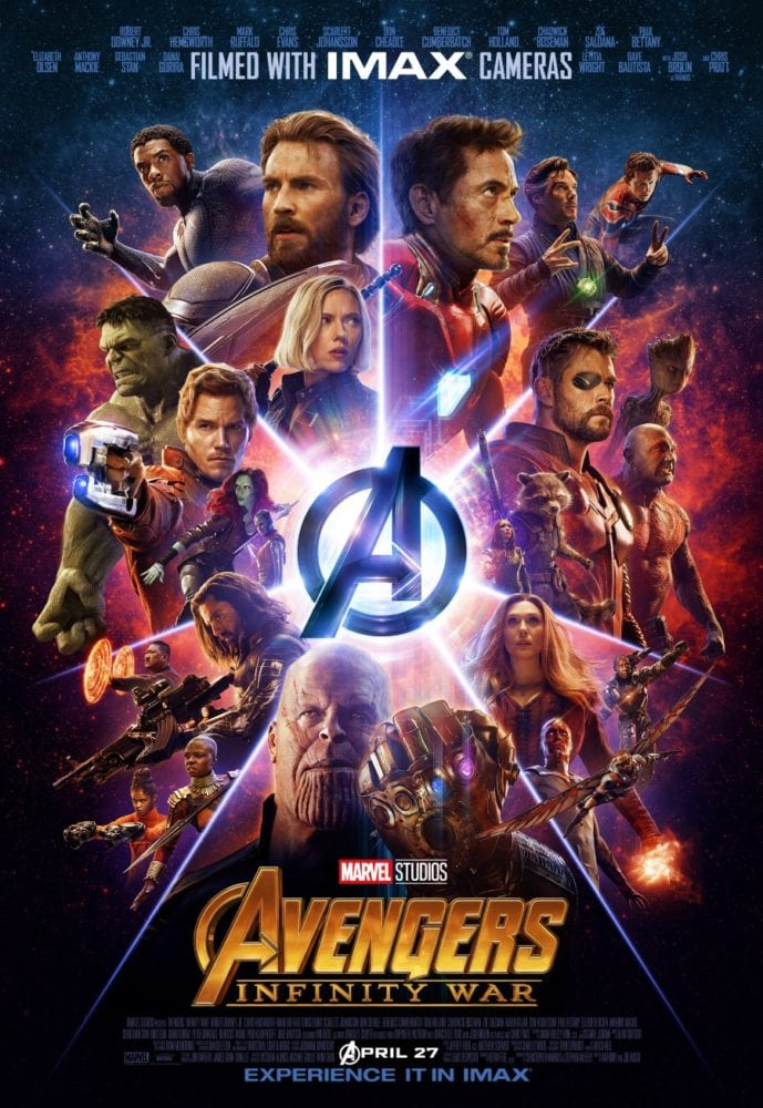 Avengers Infinity War - Movie Poster
