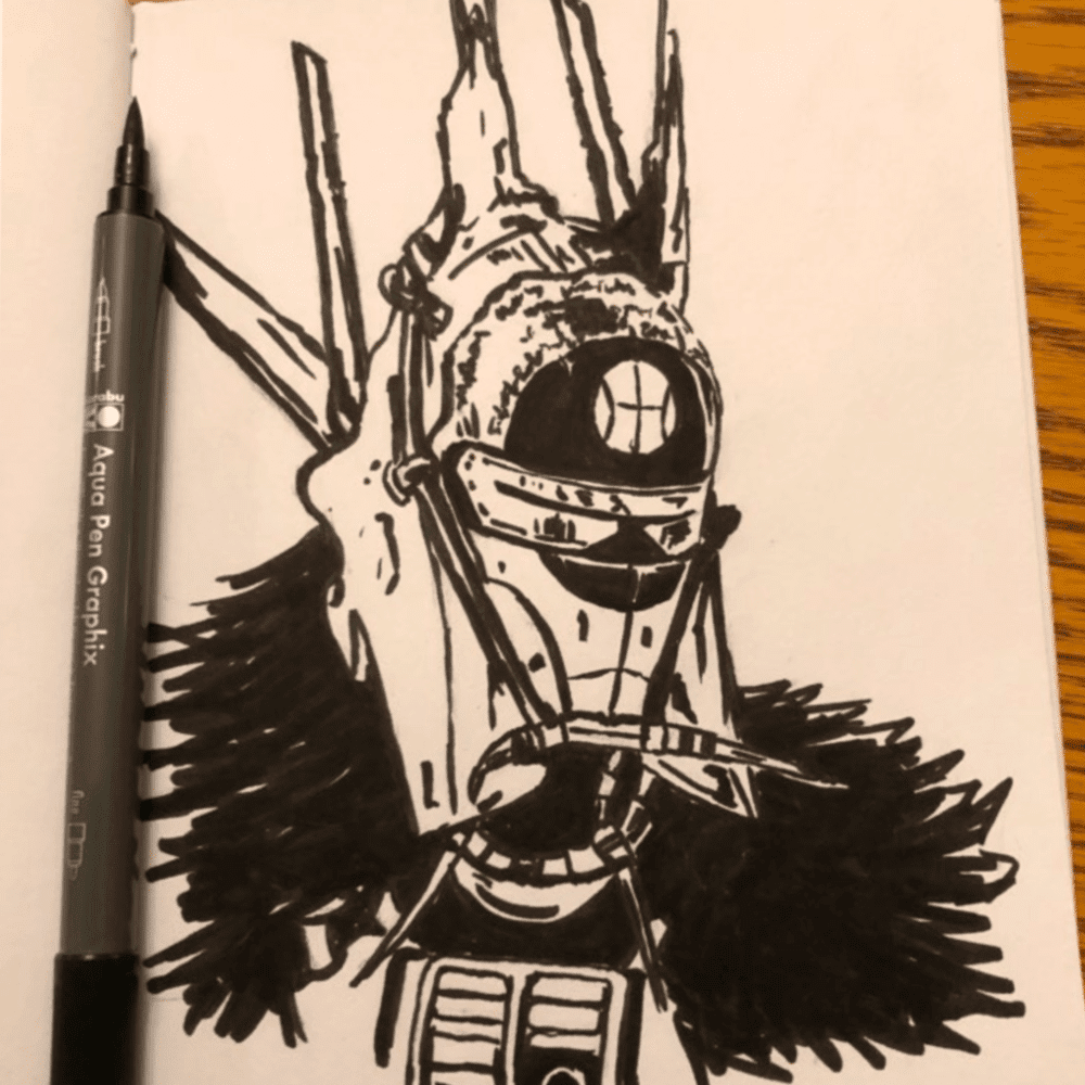Countdown To Solo A Star Wars Story Drawing Challenge Retrozap Artist Series