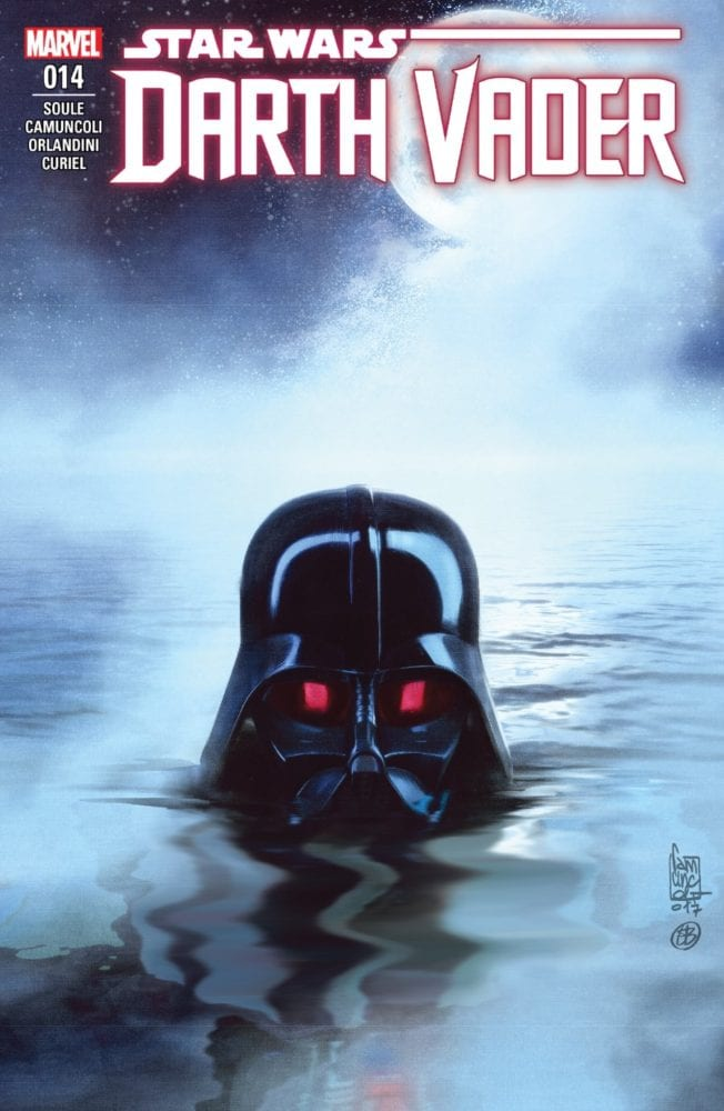 Darth Vader #14 - The Burning Seas Part II Cover