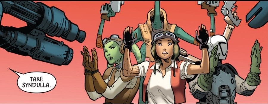Doctor Aphra #18 - Aphra's Crew Captured