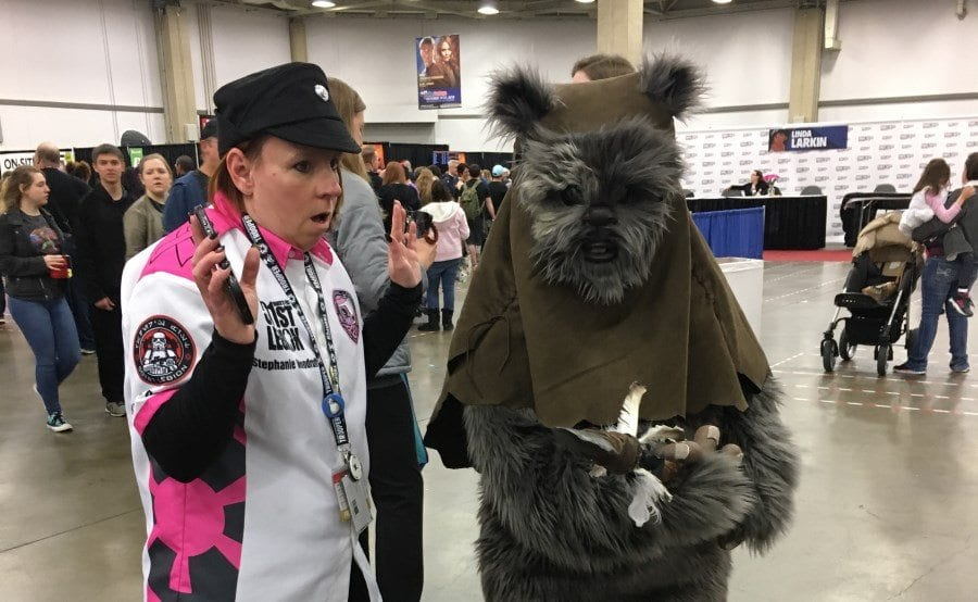 Fan Expo Dallas 2018 - Ewok