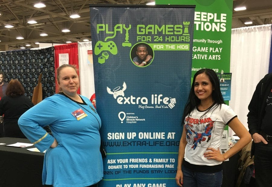 Fan Expo Dallas 2018 - Extra Life