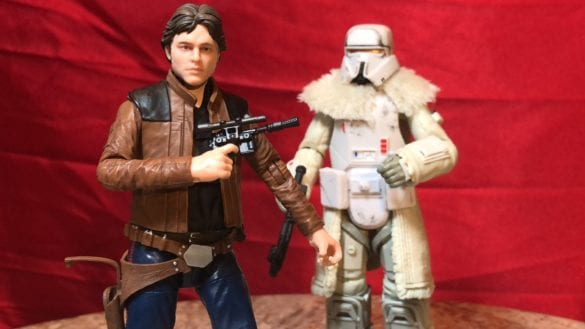 Skywalking Through Neverland: Falcon Friday Special – Black Series Han Solo & Range Trooper [VIDEO]