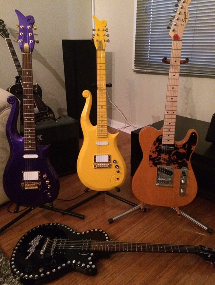 Prince, guitars