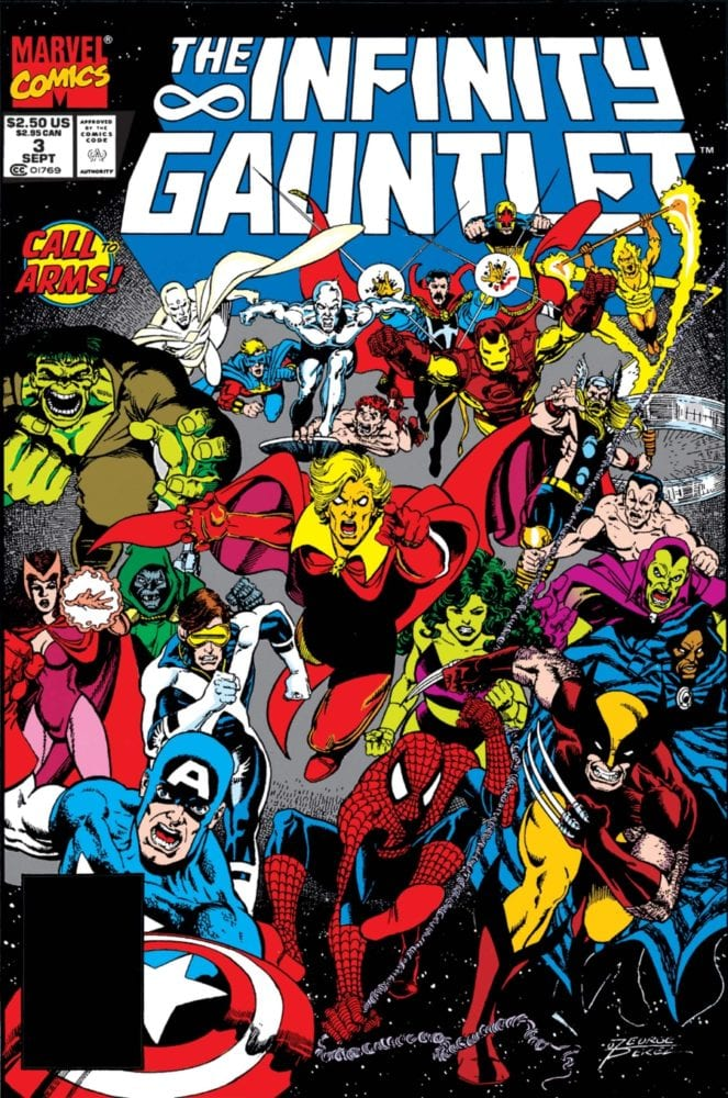 Infinity Gauntlet #3 Cover