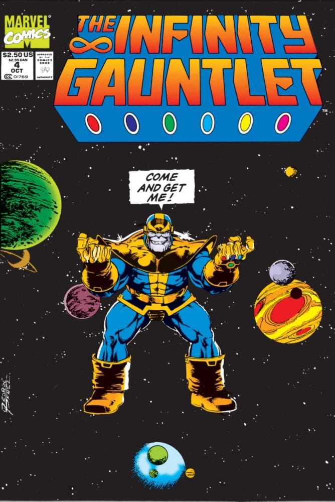 The Infinity Gauntlet #4 Cover