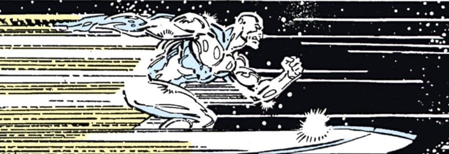 The Infinity Gauntlet #4 - The Silver Surfer
