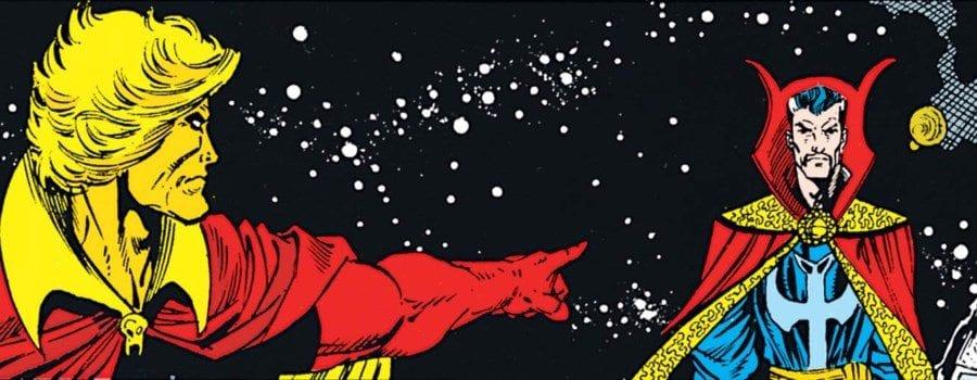 The Infinity Gauntlet #6 - Warlock signals Strange