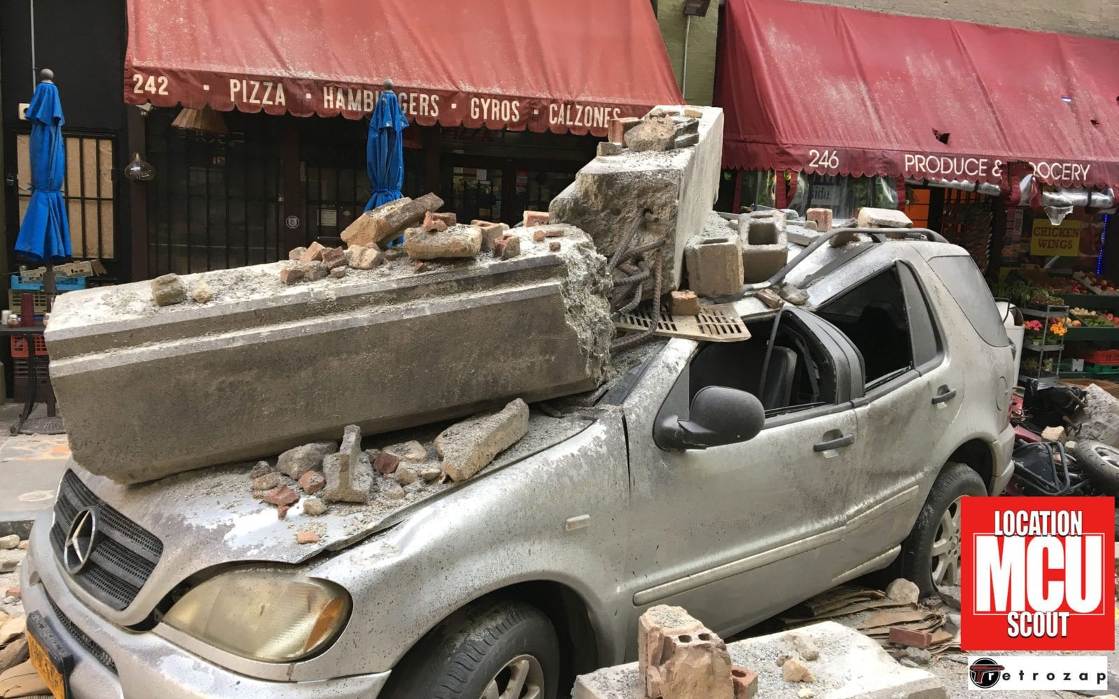 Destroyed New York Street