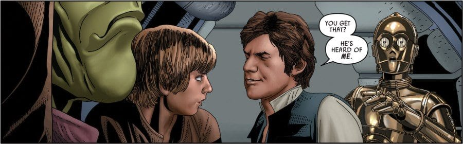 "Star Wars #46 - Han ""He's heard of me."""