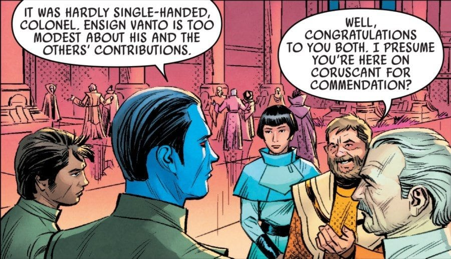 Thrawn #3 Cocktail Party