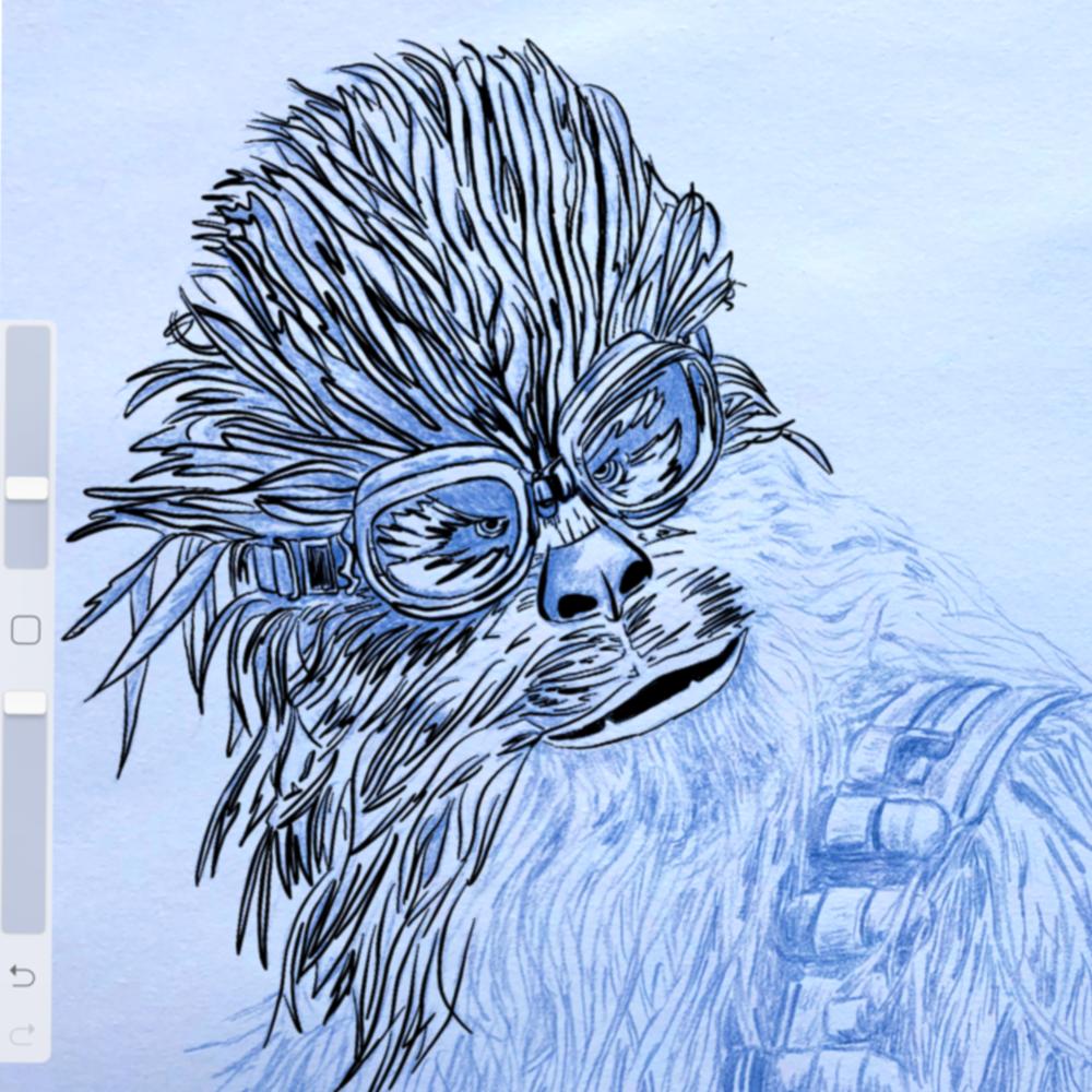 Blue Line Chewie