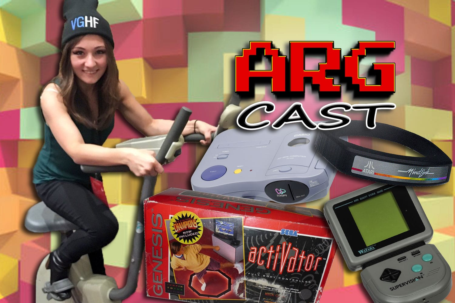 ARGcast #111: Obscure Consoles and Peripherals with Kelsey Lewin