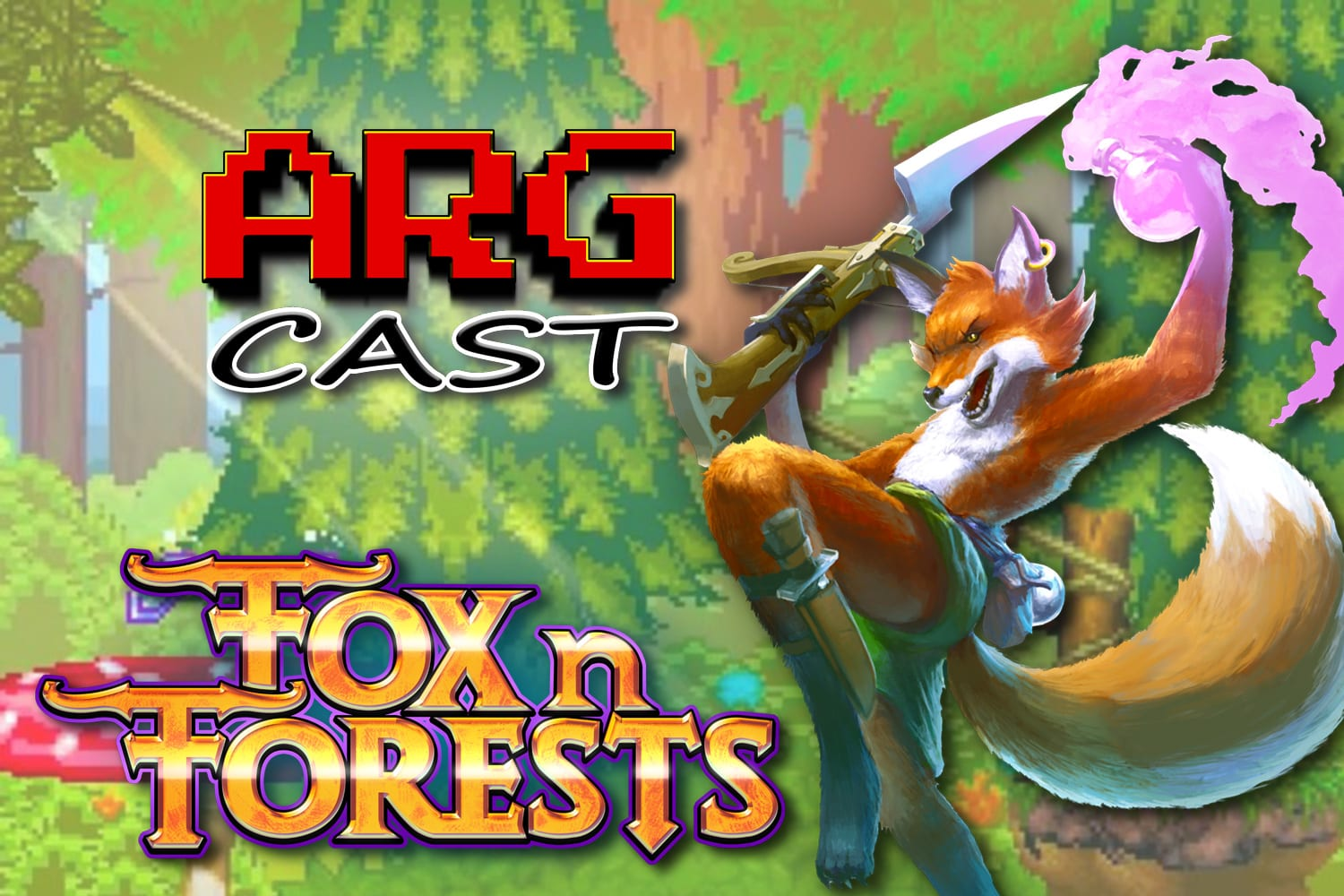 ARGcast Mini #13: Fox n Forests with Rupert Ochsner