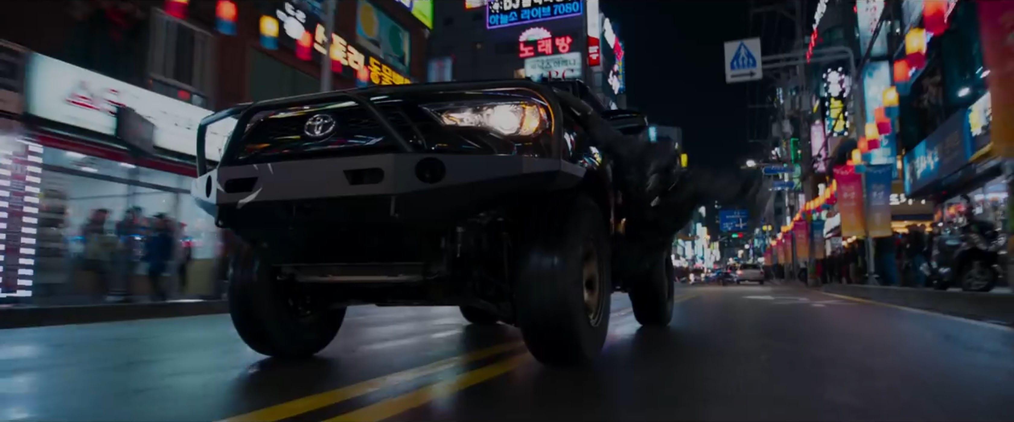 Busan Street Chase