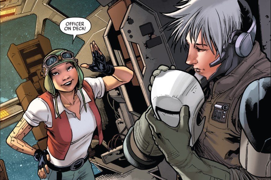Doctor Aphra #19 - Aphra and Tolvan