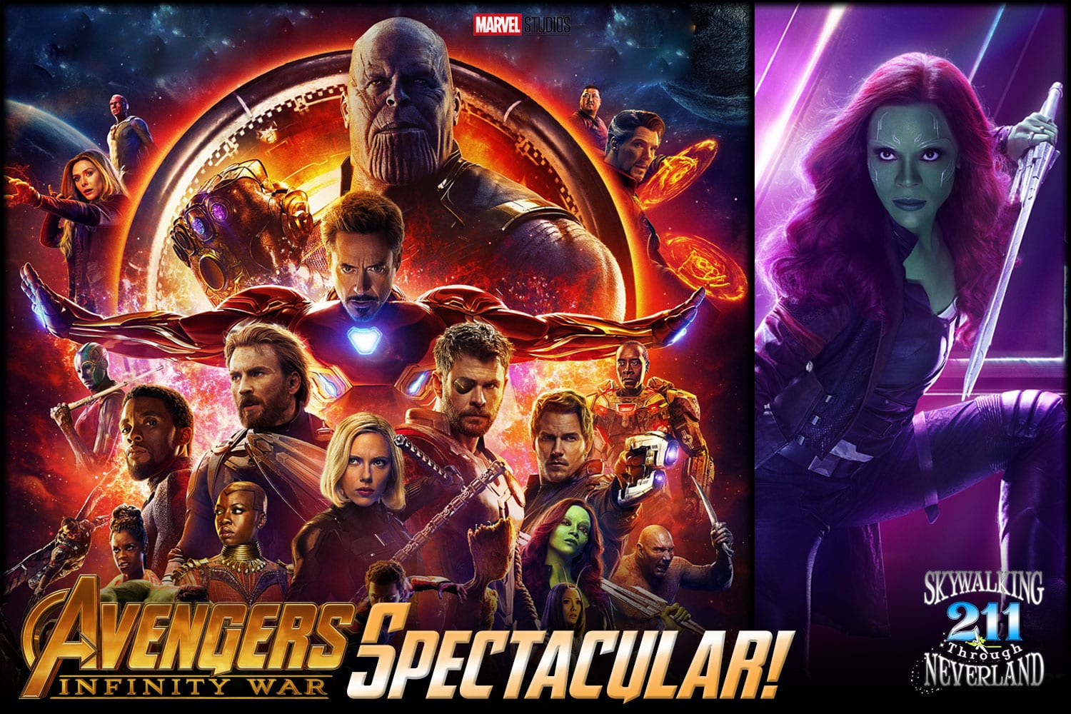 Skywalking Through Neverland #211: Avengers Infinity War Spectacular!