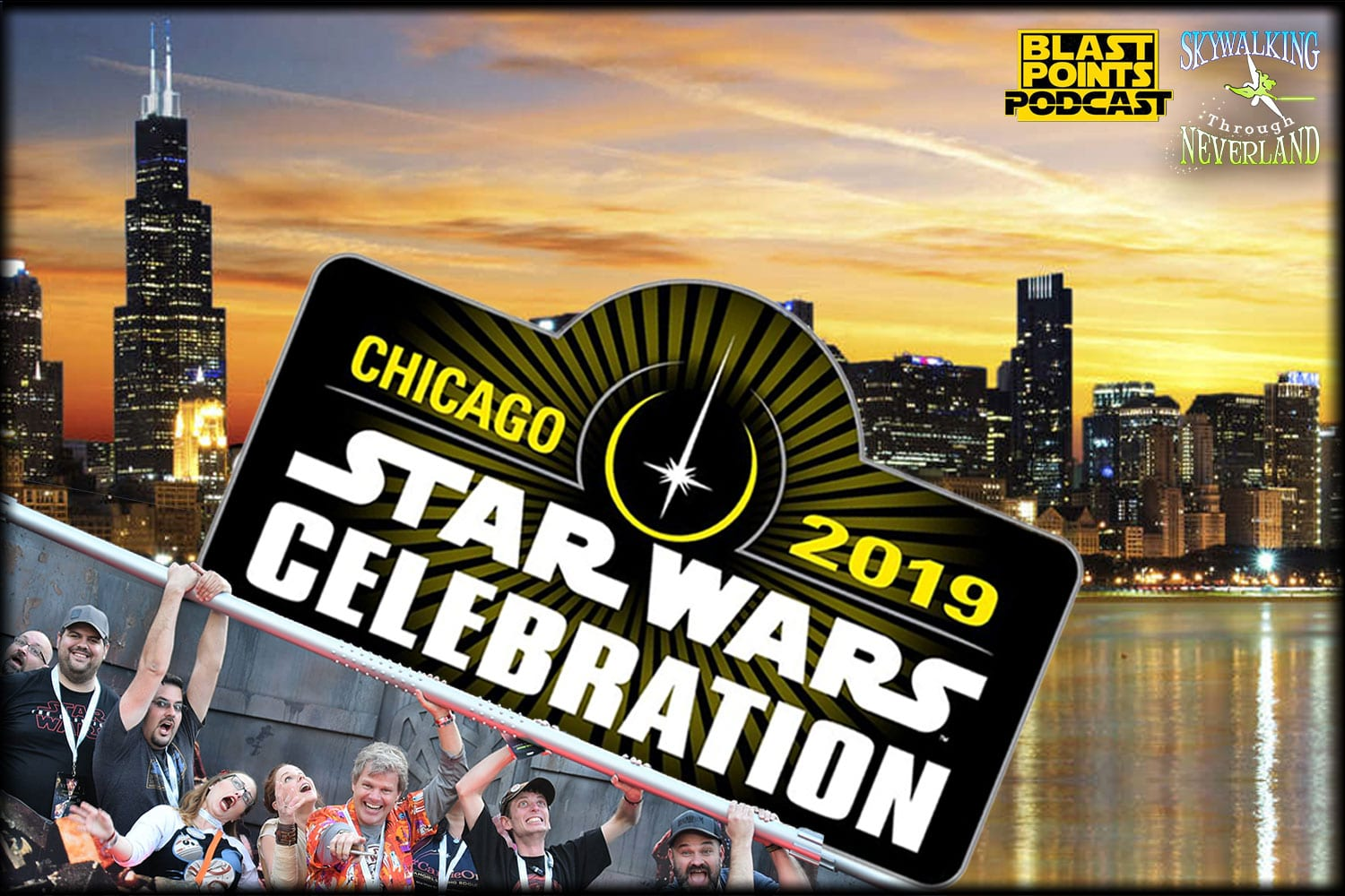 Skywalking Through Neverland: Star Wars Celebration Chicago