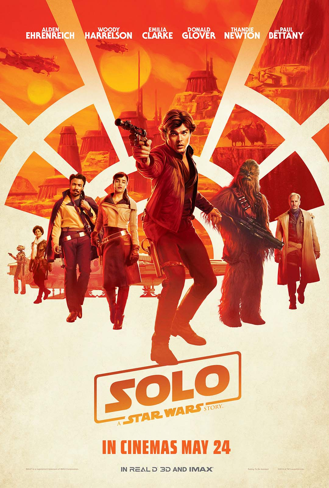 Solo A Star Wars Story US Theatrical Poster