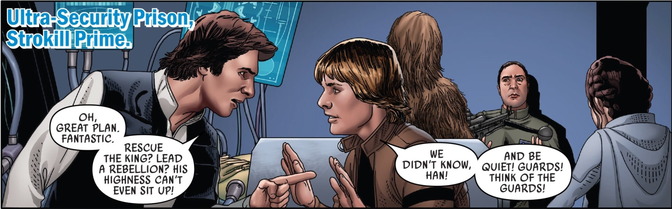 Star Wars #48 Han and Luke