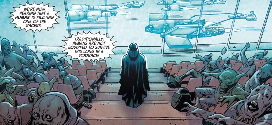 Star Wars Annual #4 - Vader at the Podrace