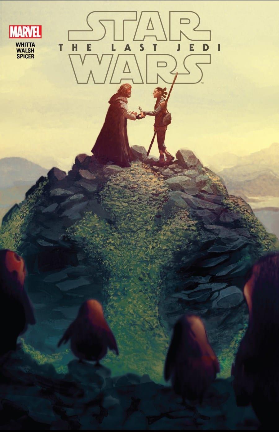The Last Jedi #1 - Cover
