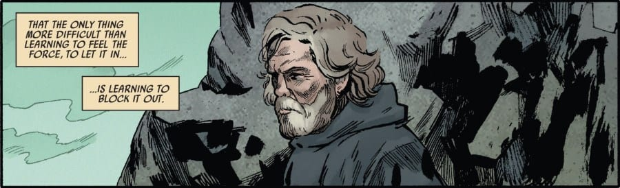 The Last Jedi #1 - Luke Contemplates the Force