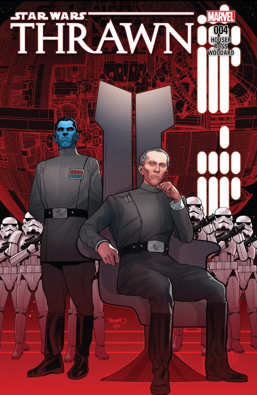 Thrawn #4 Cover