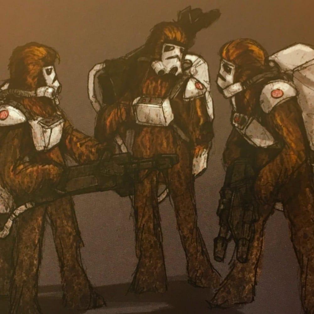 Wookiee Stormtroopers