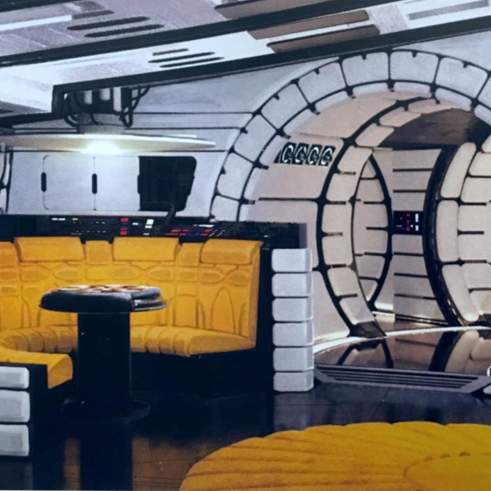 Lando's Falcon