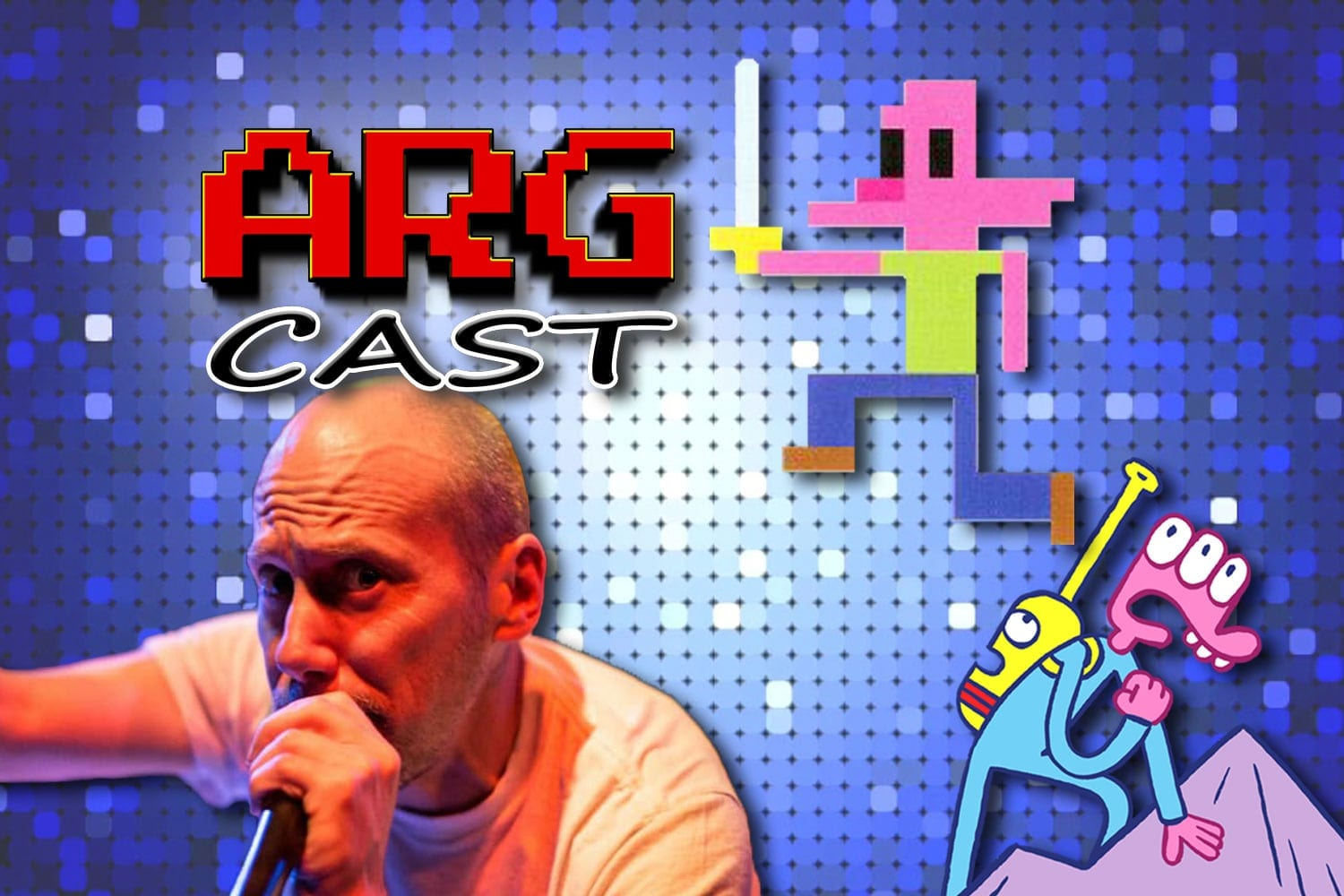 ARGcast #117: Hacked Retro Games with James Kochalka