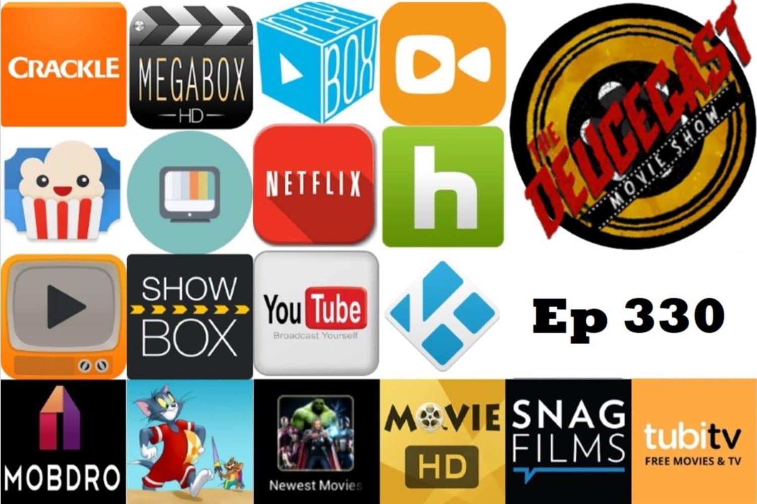 The Deucecast Movie Show #330: Islands in the Streaming 3
