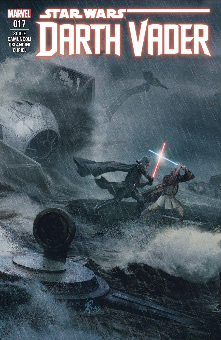 Darth Vader #17 - Burning Seas Part V Cover