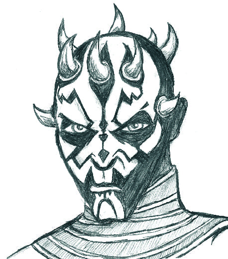 Darth Maul Sketch