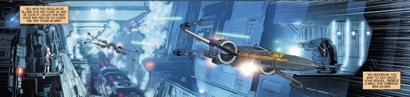 Poe Dameron #28 Trench Run