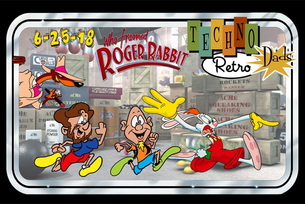 TechnoRetro Dads: Who Framed Roger Rabbit and Why Is Mario Helping Out