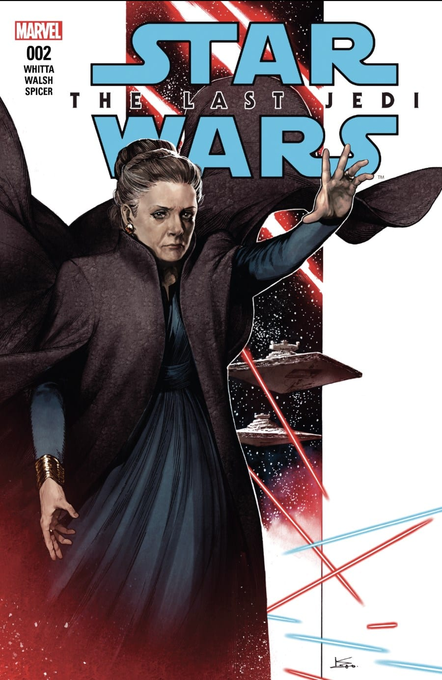 The Last Jedi #2 Cover