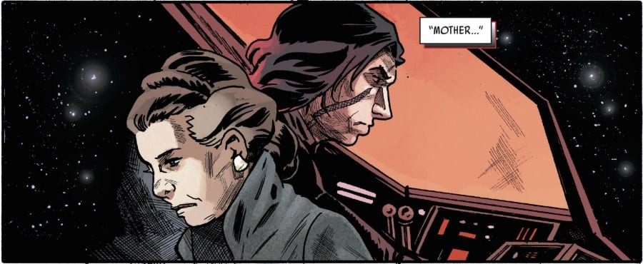 The Last Jedi #2 - Leia and Ben