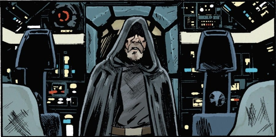 The Last Jedi #2 - Luke on the Falcon