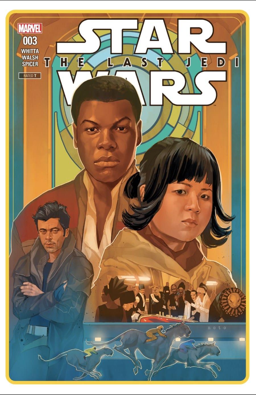 The Last Jedi #3 Cover