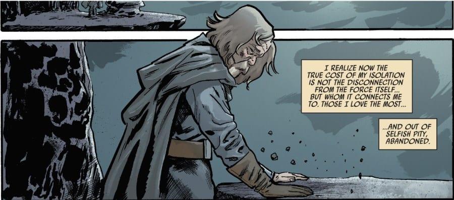 The Last Jedi #3 - Luke contemplates the Force