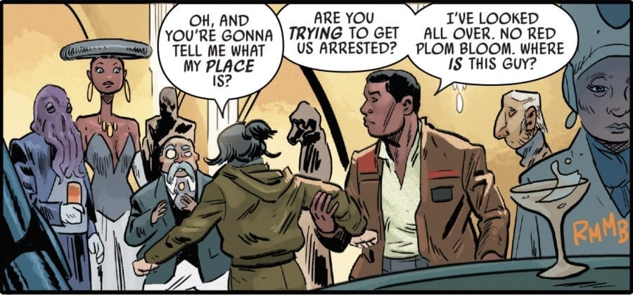 The Last Jedi #3 - Rose and Finn on Canto Bight