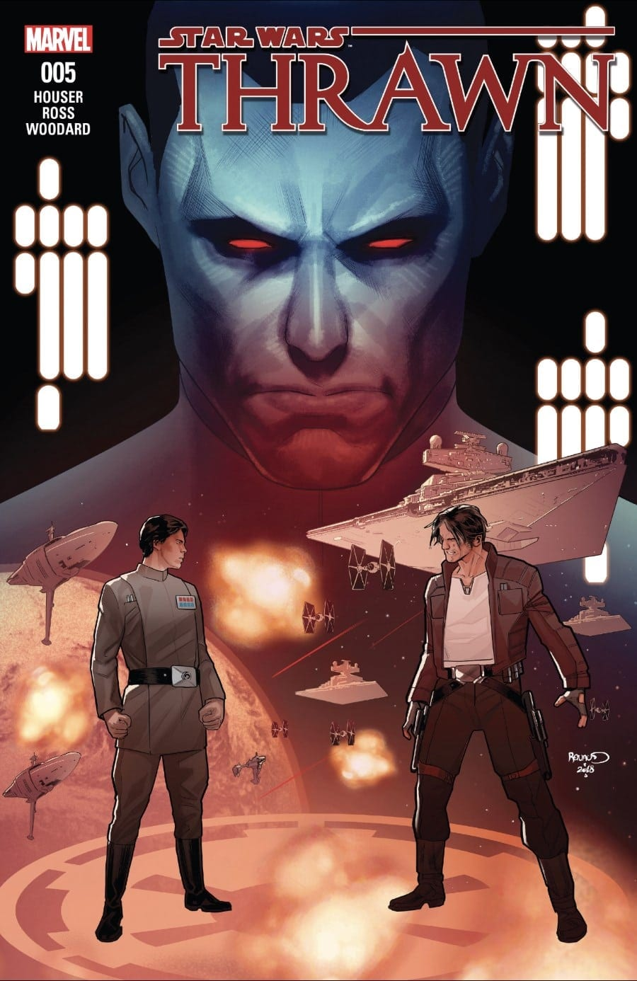 Thrawn #5 Cover