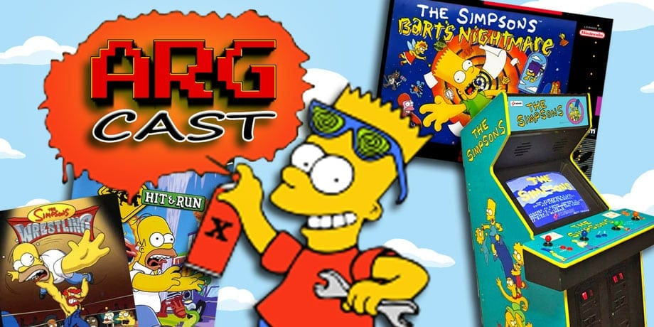 ARGcast #119: The Simpsons History in Retro Gaming with Bill Gardner