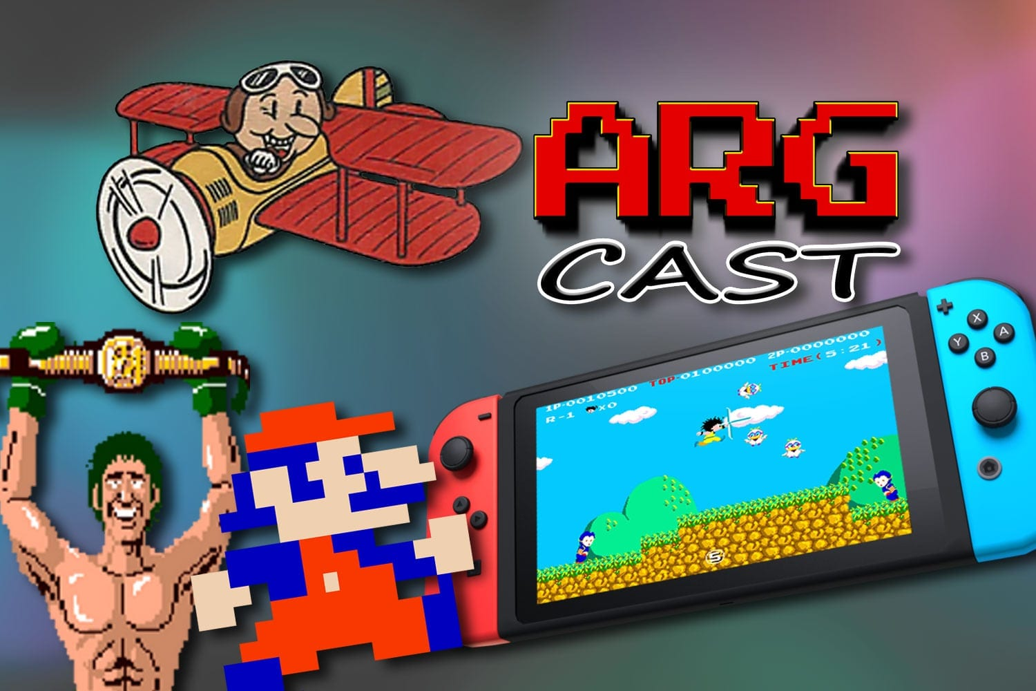 ARGcast #121: The Best Retro Games on Nintendo Switch