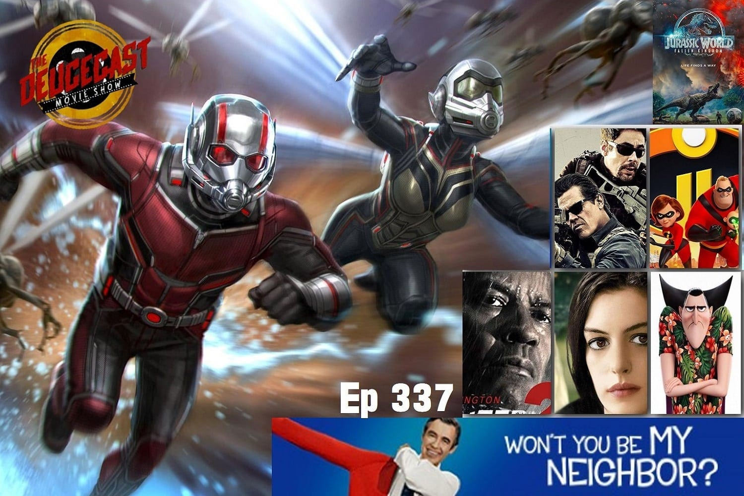 The Deucecast Movie Show #337: Won't You Be My ReFlicktions