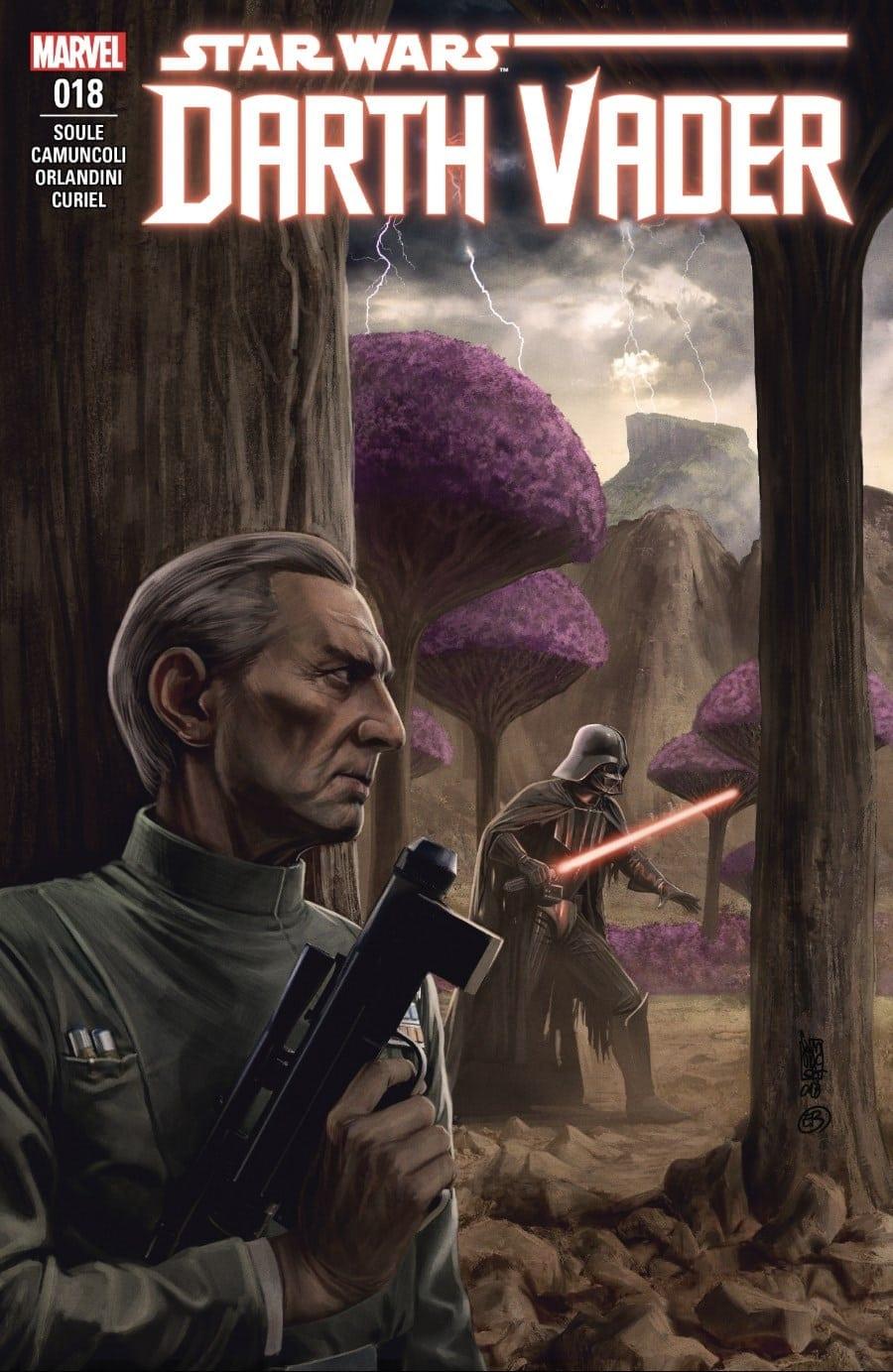 Darth Vader #18 Bad Ground Cover