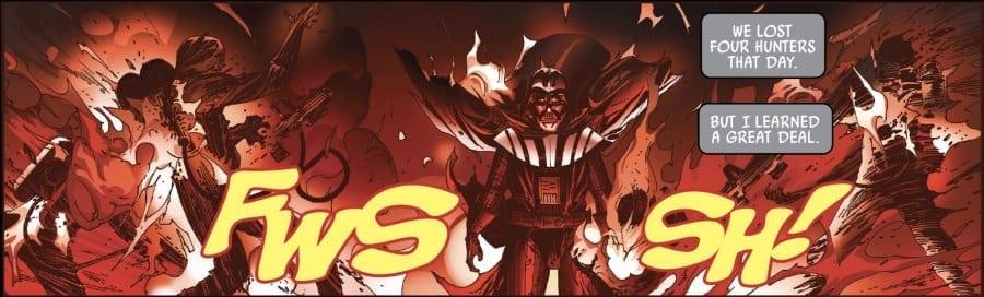 Darth Vader #18 Bad Ground - Vader and Flames